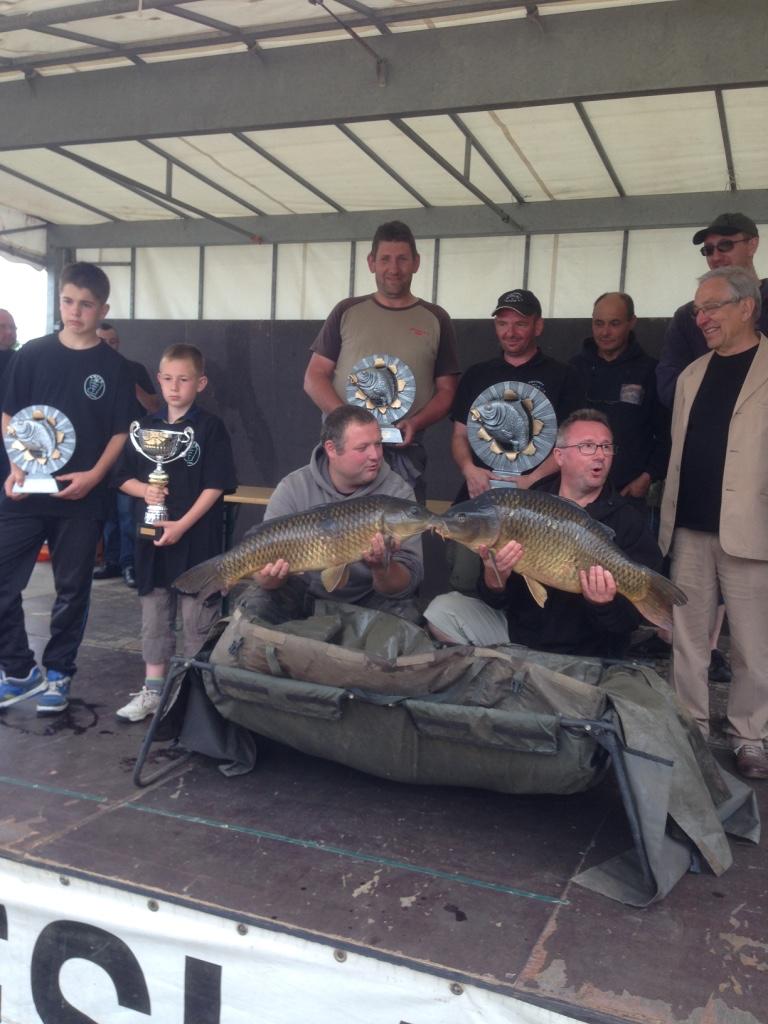 Fête de la pêche Villiers Charlemagne Juin 2015